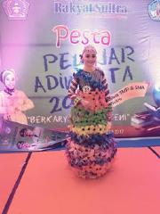 Siswi MTs PESRI Meraih Juara 1 Pada Festival Sekolah Adiwiyata 2017