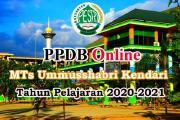 PPDB Online MTs Ummusshabri TP 2020-2021